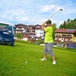 Golfplatz nahe Hotel Alpenbllck am Attersee @